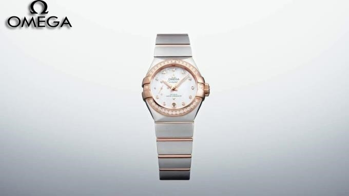 Omega Constellation Rose Gold Diamond