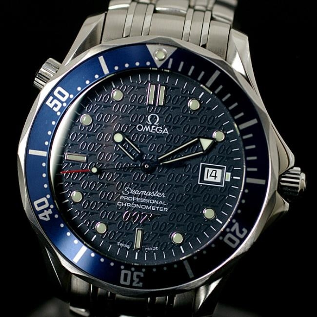 Omega Seamaster Professional James Bond