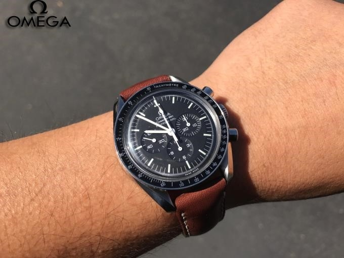 Omega Speedmaster Professional Leather Strap