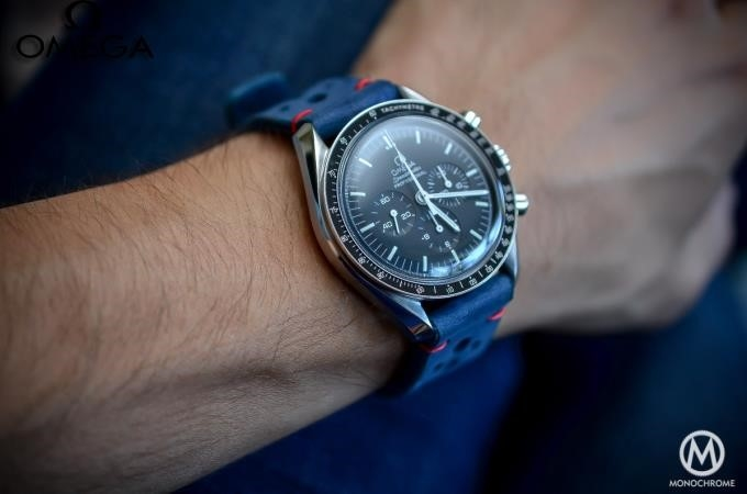 Omega Speedmaster Professional Moon Watch Leather Strap