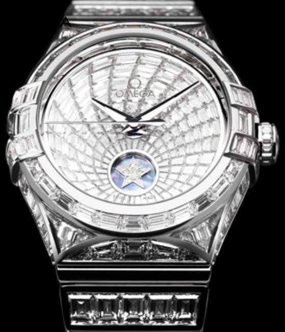 Omega Watch With Diamonds