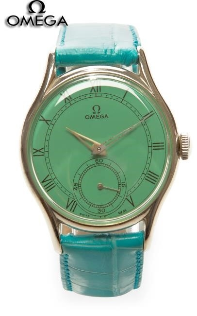 Omega Green Watch